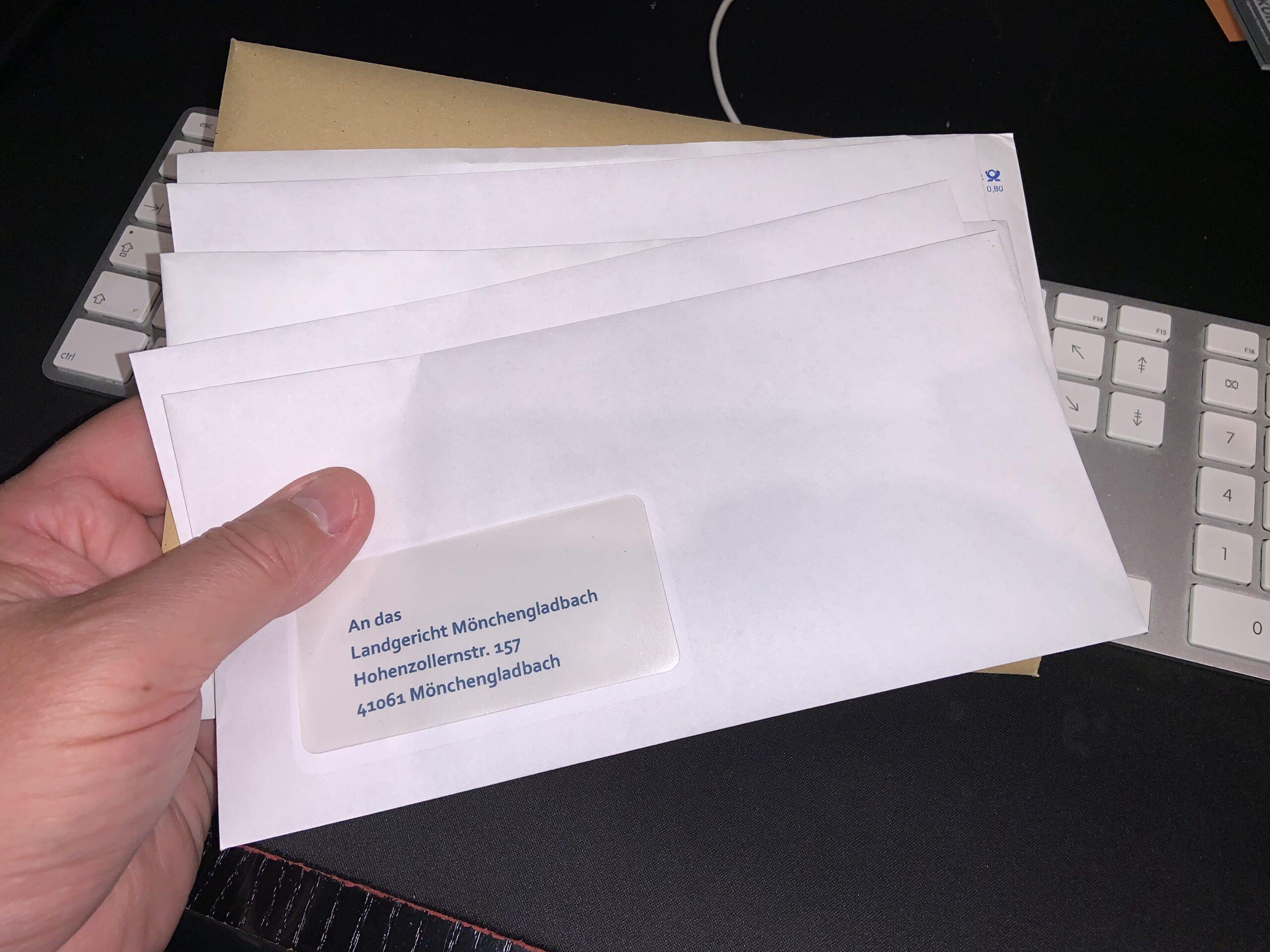 Brief Landgericht