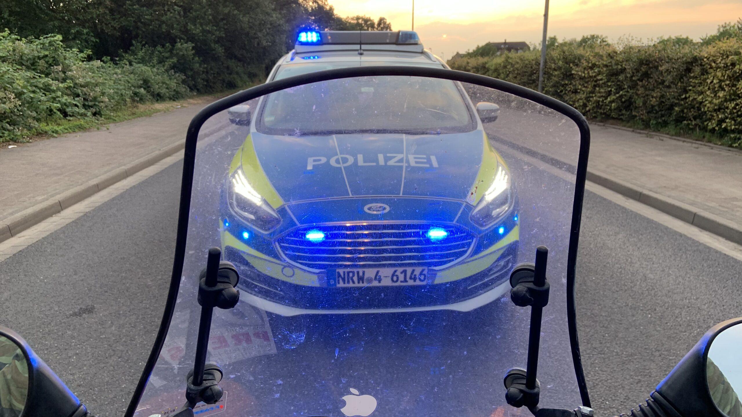 Roller / Polizei